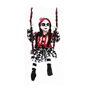 Circus Doll Halloween Decoration