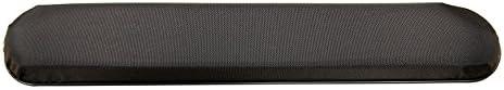 AR579P One Pair - Black Nylon Full Length Padded Armrests Pair, Universal Fit
