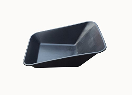 Keto-Plastics-WHEEL-BARROW-BLACK-REPLACEMENT-PLASTIC-BODY-85LITRE-NO-HOLES-MADE-IN-UK