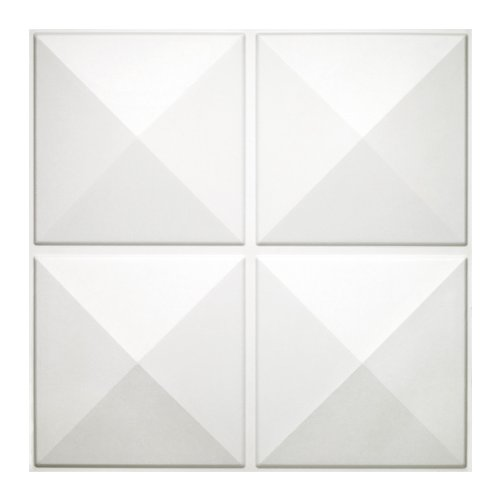 Donny Osmond Home 3DWTSTAR06 Star 3D Self Adhesive Wall Tiles 10Pack