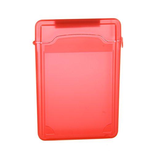 3.5Inch For Hard Drive IDE SATA Full Case Protector Storage Box Plastic