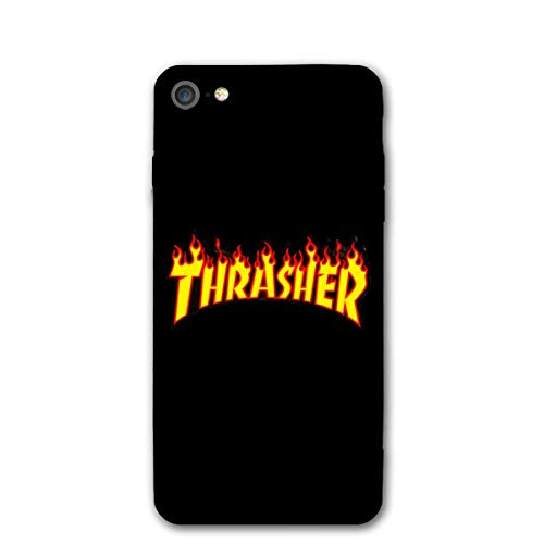 new concept 88380 88575 iPhone 8 Case, iPhone 7 Case Thrasher-Skateboard-Magazine-Gold Protective  Anti-Scratch Shock Cover Damping Designed for Apple Case iPhone 7/8 Case