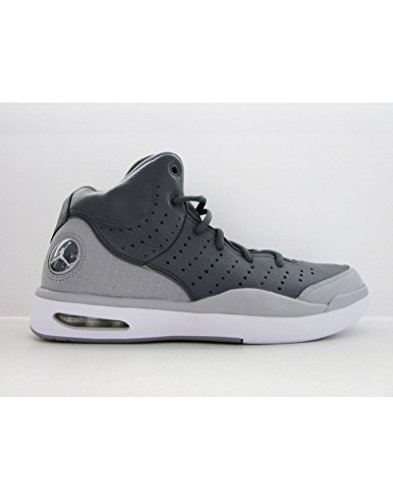 nike Air Jordan Flight Tradition BG Hi Top Trainers 819473 Sneakers Shoes (4.5 Big Kid M', cool grey white wolf grey 003) by NIKE
