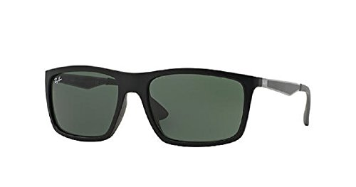 Ray-Ban 0RB4228 Rectangle Sunglasses for Mens - Size - 58 - Ban Off Ray