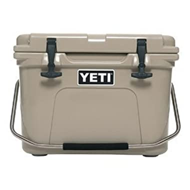 Yeti Roadie Cooler, 20 quart, Desert Tan