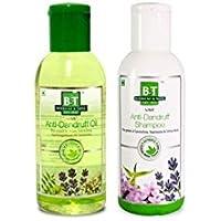 Schwabe India B&T Anti-Dandruff Combo - Shampoo & Oil (150ml*2)