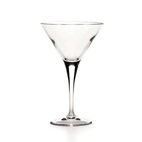 Mikasa Napoli Martini Glasses, 8.3-Ounce, Set of (Martini Suite)