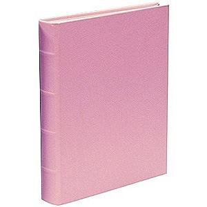 Medium 9x12 Baby-Pink Italian Eco-leather book-bound Album by Graphic Image™ - 9x12 by Graphic Image