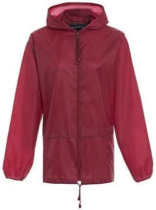 4Young Camouflage Raincoat with Backpack Cover Rain Jacket for Kids Waterproof Rainwear Rain Gear
