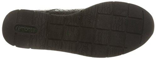 RemonteR4006 02 - Zapatillas de Estar Por Casa mujer negro - Noir (Noir Combiné)