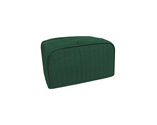 RITZ Polyester / Cotton Quilted Toaster Oven Cover, Dark Green