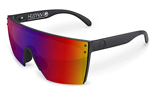 Heat Wave Visual Lazer Face Sunglasses in Atmosphere (Sunglasses Shield)