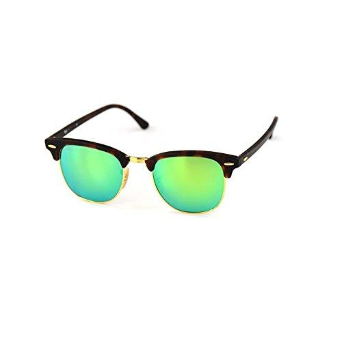 hommes montantes Shop colorées semi soleil lunettes Vert femmes lunettes de Lunettes 6 soleil exquises et polarisantes pour soleil Lunettes de de Film gTpgwfq