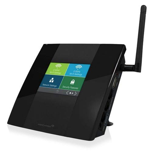 Amped Wireless High Power Touch Screen AC750 Wi-Fi Router (TAP-R2)