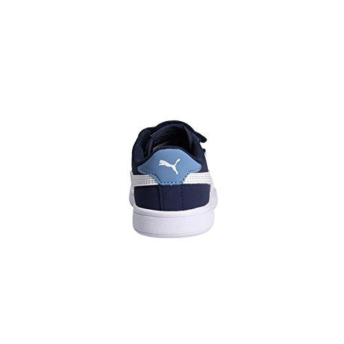 Puma Zapatilla 365183-02 Smash V2 Buck Azul