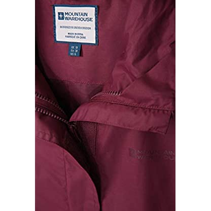 Mountain Warehouse Fell Womens 3 in 1 Jacket -Water Resistant Rain Jacket, Adjustable Hood Ladies Winter Triclimate… 7