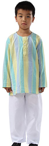 India Boys Traditional Clothing Costume dress (8-12 years old, (India Costume For Children)