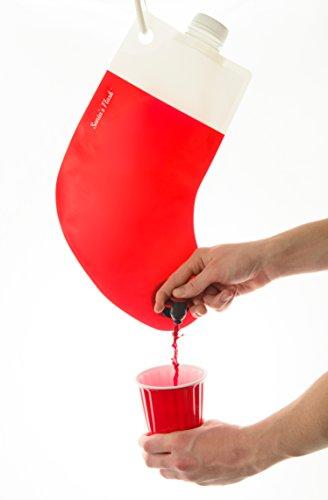 Santa's Stocking Flask, 2.25 L, - Flask Spirit