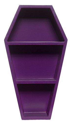 Sourpuss Coffin Shelf Purple (Bookshelf Purple)
