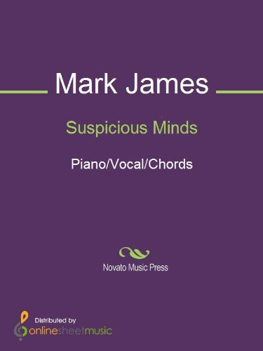 Suspicious Minds Kindle Edition By Mark James Arts Photography