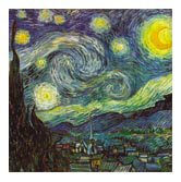 Vincent Starry Night Stone Coasters product image