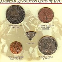 American Revolution Coins - Museum Quality Reproduction