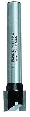 Leman 408.720.70 Mèche à rainer droite en Carbure ø 20 mm queue de 8 mm