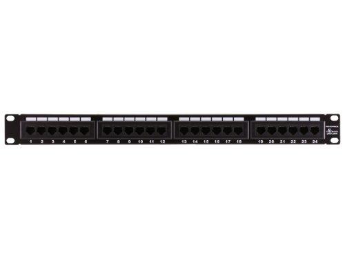Monoprice 107253 110 Type 24-Port Cat6 Patch Panel