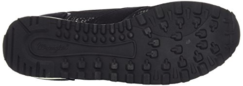 Wrangler Runway Mesh, Women's Low-Top Sneakers Black (357 Black / Tropical)