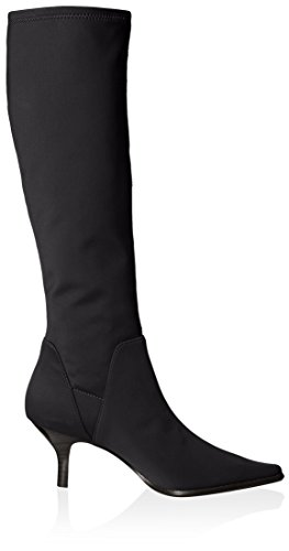 Donald J Pliner Women's Lena Pointed Toe Tall Stretch Boot Black KBPvKRS1