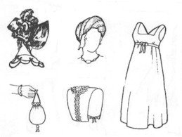 Early 19th Century Accessories Pattern