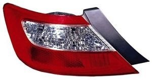 Tail Light 2 Door Coupe (2006 - 2008 Honda Civic (2 Door Coupe Only) Driver Taillamp Taillight NEW 33551-SVA-A02 HO2800165)