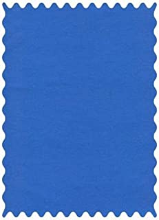 product image for SheetWorld 100% Cotton Percale Fabric by The Yard, Royal Blue Woven, 36 x 44