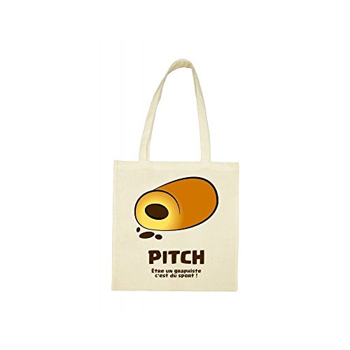 beige choco bag pitch Tote bag Tote beige choco pitch OfUAPP