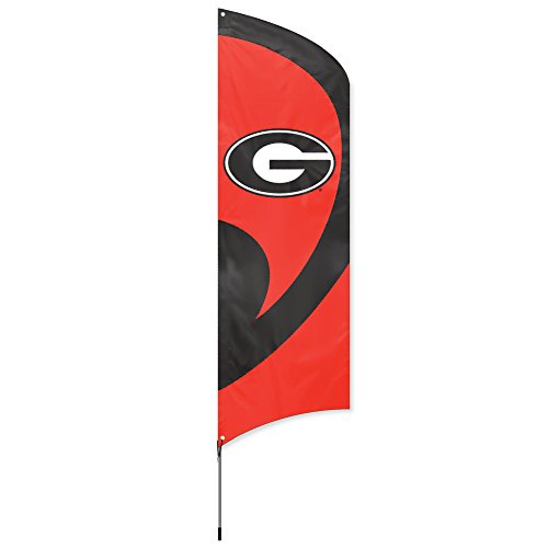 Ncaa Party Kit (Party Animal NCAA Georgia Bulldogs College Tailgating Flag Kit)