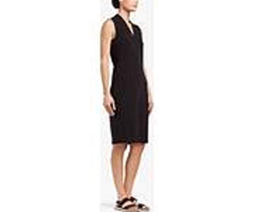 James Perse High Twist Ponte Pencil Dress-Size 1 Black