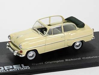 Amazon Com Opel Olympia Rekord Cabriolet 1954 Diecast Model Car