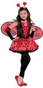 amscan Girls Totally Ladybug Costume - Medium (8-10) -