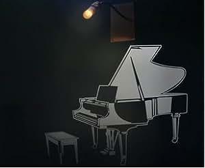 Vinilo decorativo pegatina pared, cristal, puerta (Varios colores a elegir)- piano