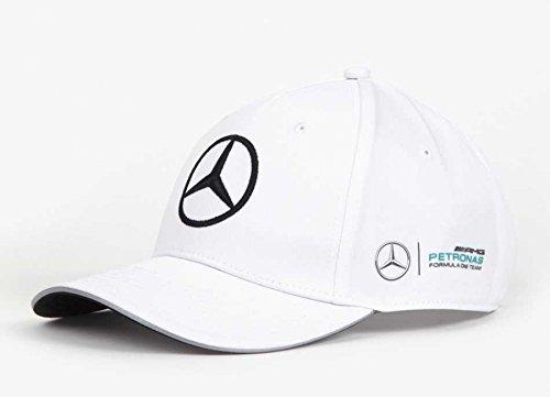 mercedes benz petronas amg formula 1 white mamgp team hat. Black Bedroom Furniture Sets. Home Design Ideas