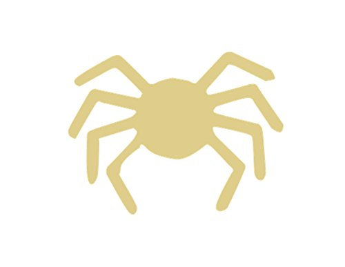 Spider Cutout Unfinished Wood Arachnid Spooky Web Halloween Insect Bug Scary Poisonous Animal MDF Shape Canvas Style 2