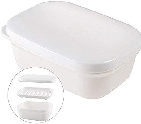 Portable Travel Waterproof Sealed Soap Box Case Dish Holder Storage Container So