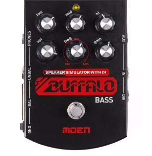 ESC BS-BA 2 BASS VERSION BUFFALO EQ AMP SIM HEADPHONE+DI