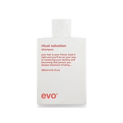 エボ儀式救いシャンプー(300ミリリットル) x2 - Evo Ritual Salvation Shampoo (300ml) (Pack of 2) [並行輸入品] B071NHBVB3