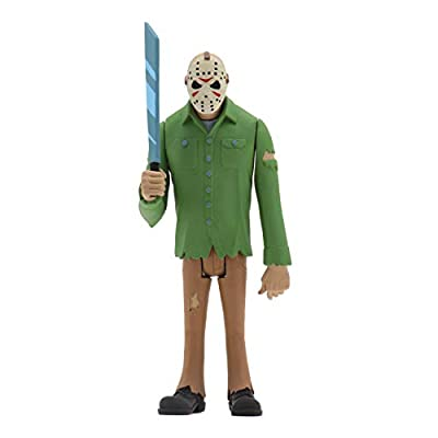 "NECA Toony Terrors - Friday The 13th - 6"" Scale Action Figure- Stylized Jason: Toys & Games"