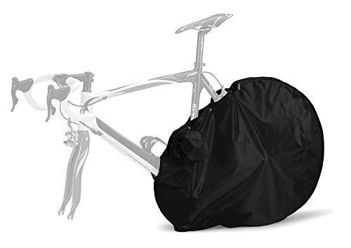 (SCICON Rear Bike Drivetrain Cover, Black, 95x68cm - protects you and your car seats)