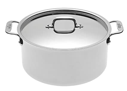 Amazon All Clad 5508 Stainless Steel Stockpot Cookware 8 Quart
