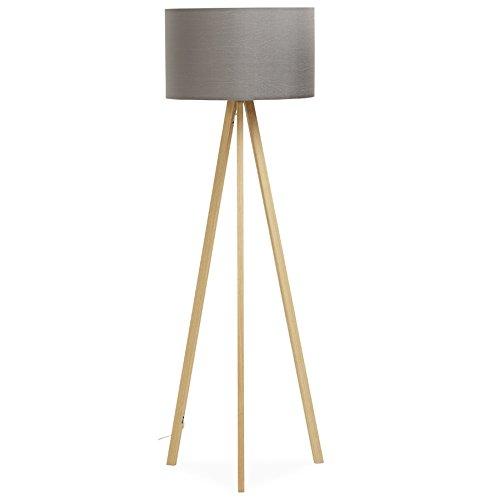 Alterego-trípodeSPRING-Lámpara de pie con pantalla y 3 ...