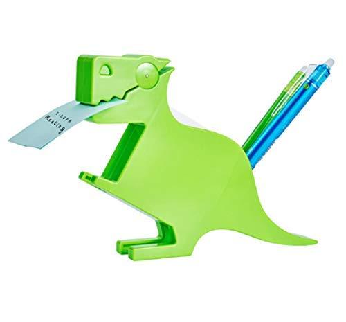 MSFGJZM Animal Note Clip Multi-Functional Plastic Memo Included Holder Note Stand Organizer (Dinosaur - Note Dinosaur