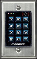 Seco-Larm Enforcer Access Control Keypad with Proximity Reader, Backlit (SK-1131-SPQ)